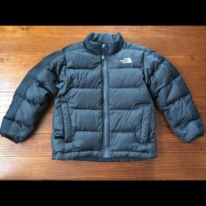 The North Face 550 goose down puffer Coat sz 6 xs